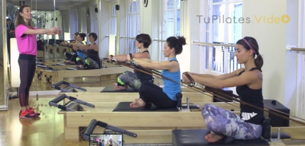 Rocio Carceles Tu Pilates Video Reformer Avanzado